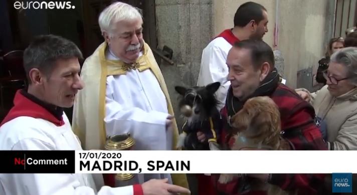 Πήγαν τα ζώα τους για ευλογία στην εκκλησία