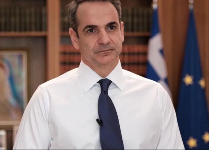 Μητσοτάκης: «Απαγόρευση κάθε άσκοπης κυκλοφορίας από αύριο στις 06.00» - Πρόστιμο 150 ευρώ στους παραβάτες