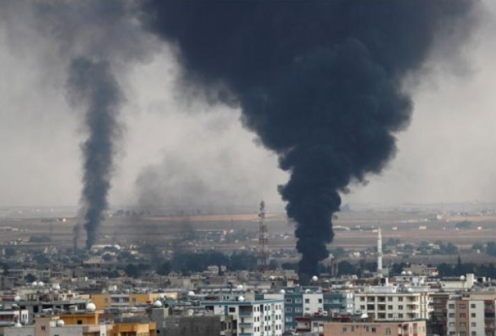 Στη Μανμπίτζ και το Κομπάνι ρωσικές και συριακές δυνάμεις
