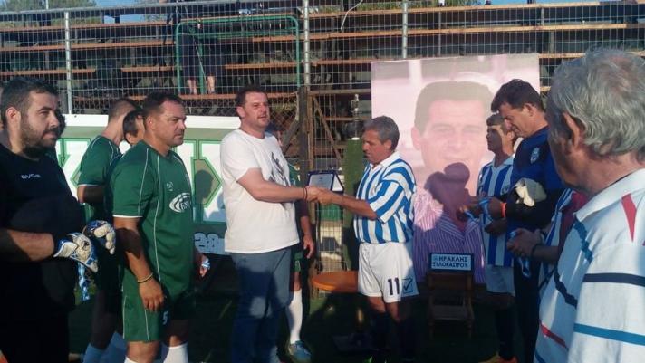 ΞΥΛΟΚΑΣΤΡΟ : Ποδοσφαιρικός Αγώνας στην Μνήμη του Ιωάννη Ζάρρου ΗΡΑΚΛΗΣ-ΑΠΟΛΛΩΝ ΑΘΗΝΩΝ