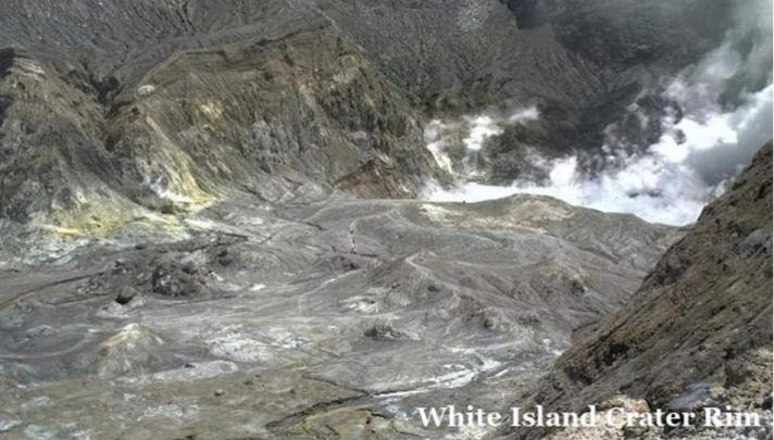 Νέα Ζηλανδία: Κάμερα κατέγραψε τουρίστες στο ηφαίστειο τη στιγμή της έκρηξης (φωτογραφίες)