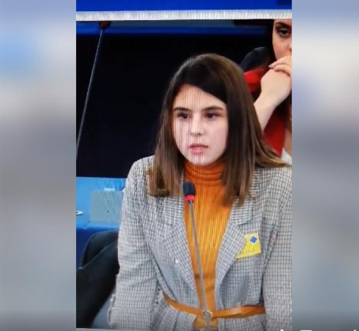 Ξυλόκαστρο : Μαθήτρια στο Ευρωκοινοβούλιο ΒΙΝΤΕΟ