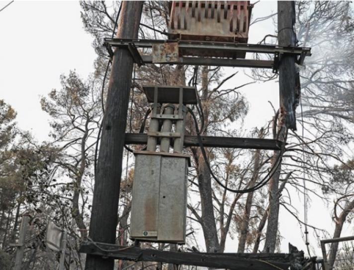 Τα αίτια της φωτιάς στη Βαρυμπόμπη: «Έσκασε» μετασχηματιστής υψηλής τάσης