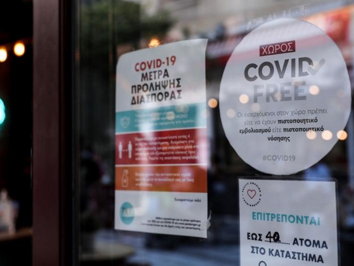 Νέα μέτρα από τη Δευτέρα για τους ανεμβολίαστους – Τι ισχύει για τεστ και κλειστούς χώρους