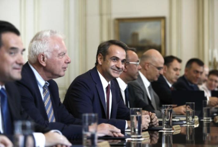Υπουργικό συμβούλιο: Για πρώτη φορά στο Μαξίμου