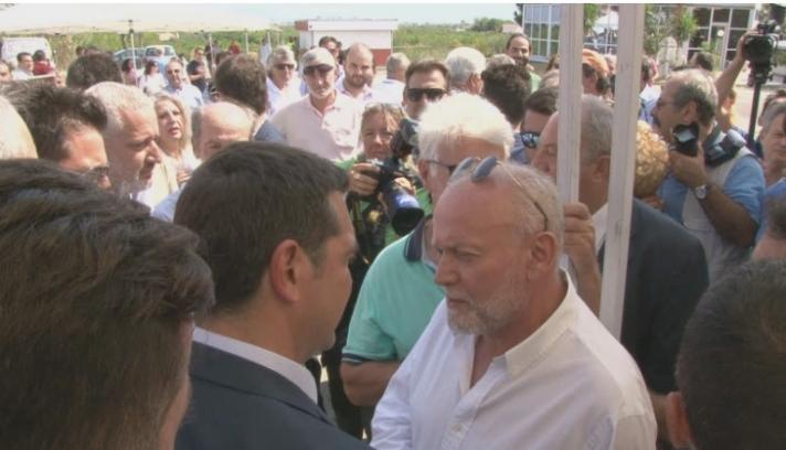 ΑΠΟΚΛΕΙΣΤΙΚΟ : Τι ζήτησε ο Δήμαρχος Ξυλοκάστρου Ευρωστίνης απο το Πρωθυπουργό Αλέξη Τσίπρα