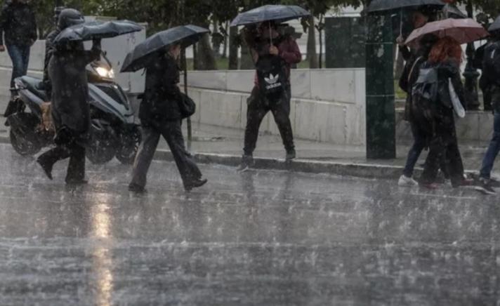 Σε ποιες περιοχές της Αθήνας έπεσε το περισσότερο νερό! Τι καιρό θα κάνει την Κυριακή!
