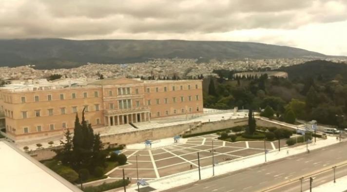 Δείτε LIVE εικόνα από την άδεια Αθήνα