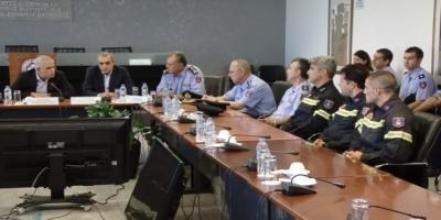 Βράβευση πυροσβεστών από τον Αναπληρωτή Υπουργό Προστασίας του Πολίτη Νίκο Τόσκα ΒΙΝΤΕΟ