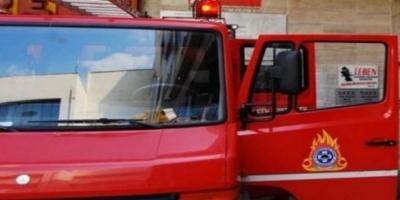 Πυρκαγιά σε εργοστάσιο ξυλείας στο δήμο Αχαρνών