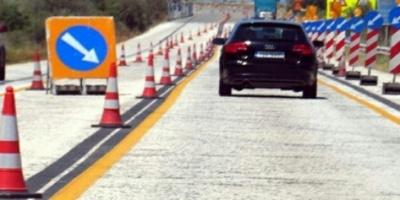 Κυκλοφοριακές ρυθμίσεις στη νέα εθνική οδό Κορίνθου - Πατρών από σήμερα Κυριακή.