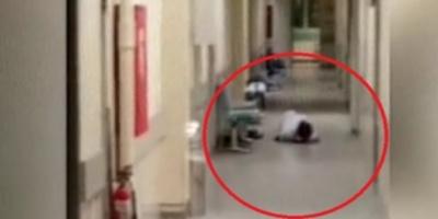 ΒΙΝΤΕΟ ΣΟΚ! Άνδρας βρισκόταν πεσμένος στο πάτωμα για ώρες στο Γενικό Κρατικό Νίκαιας και δεν ενδιαφέρθηκε κανείς! ΑΥΤΗ είναι η ΕΛΛΑΔΑ του 2016! ΝΤΡΟΠΗ ΣΑΣ ρε!