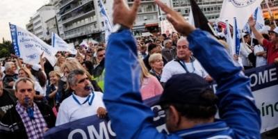 Ολοκληρώθηκαν τα συλλαλητήρια κατά των ιδιωτικοποιήσεων των ΔΕΚΟ
