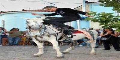 ΛΕΣΒΟΣ : Ο χορός των αλόγων