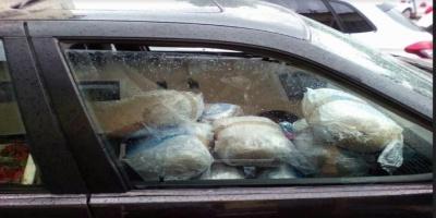 Μεγάλη ποσότητα κάνναβης Βρέθηκαν στο εσωτερικό του οχήματος (54) 119- κιλά